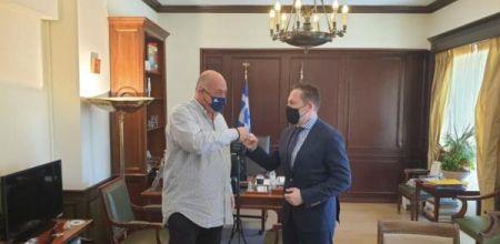 Με έργα 42, 5 εκατομ. ευρώ επιστρέφει από την Αθήνα ο Δήμαρχος Βόλου, Αχ. Μπέος