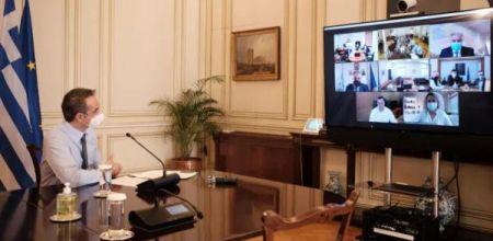 Αναφέρθηκε στην τηλεδιάσκεψη Μητσοτάκη και διοικητών ΥΠΕ: Ελεγχόμενη η κατάσταση σε Βόλο και Λάρισα